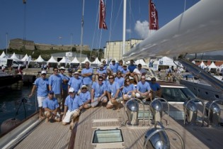 View large version of image: The Superyacht Cup Yacht Race