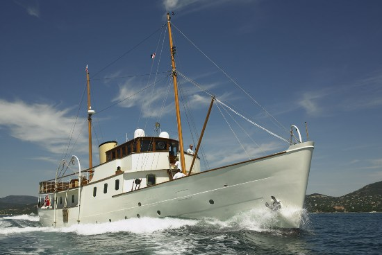 Blue Bird - The restored Gentleman's Yacht