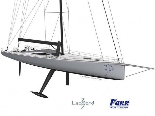 View large version of image: LEOPARD - Farr Sailing Yacht