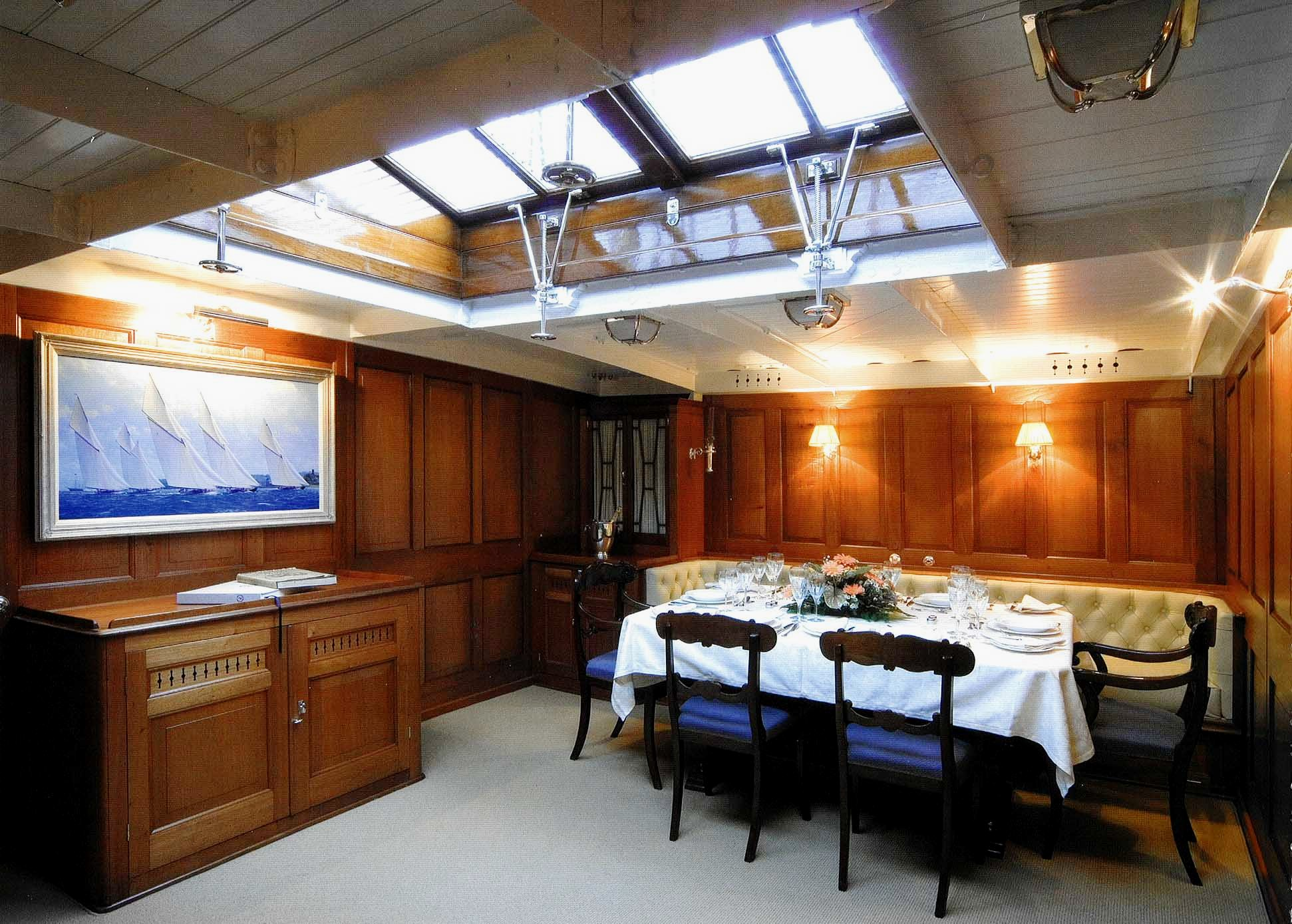 View Large Version Of Image Sailing Yacht LULWORTHs Beautiful Classic Interior