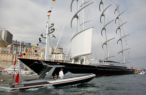 Pascoe Yacht Tender And Sailing Yacht Maltese Falcon Superyachts