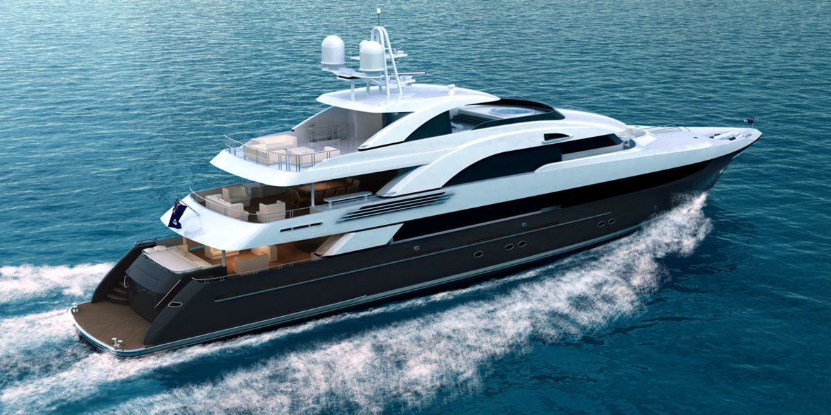 T056 – Tri-deck motor yacht by Trinity Yachts – Superyachts