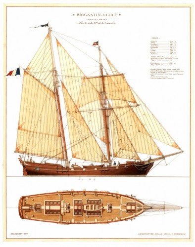 View large version of image: Classic Sailing Yacht Design