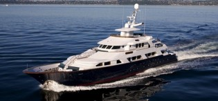 View large version of image: The 143' DEVOTION (formerly Marjorie Morningstar) available for charter
