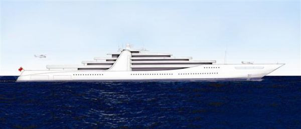 Everest - 200 metre GigaYacht for sale