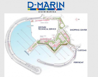 View large version of image: Dogus Marina at Didim in Turkey due to be completed for April 2009