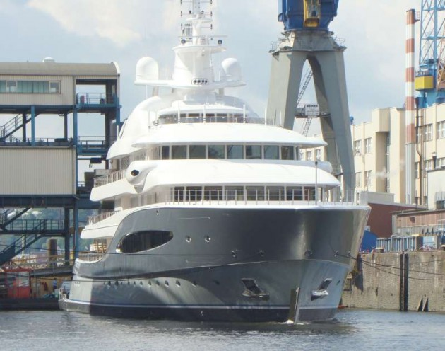 View large version of image: 'Mayan Queen IV' at her launching in germany