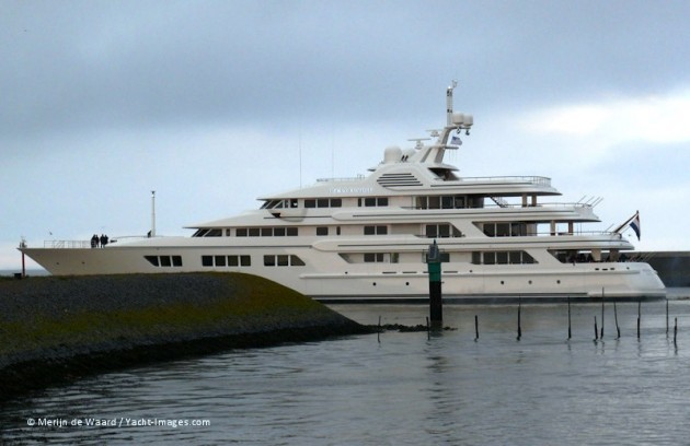 View large version of image: Motor Yacht 'Ocean Victory' - Feadship Sea Trial
