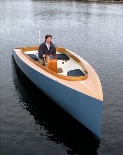View large version of image: Patterson Boatworks - Electric SuperYacht Tenter