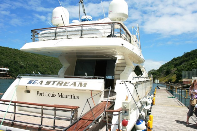 View large version of image: The Aft of SEA STREAM