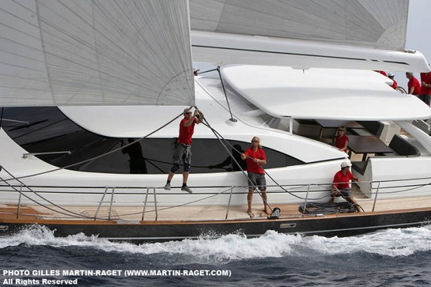 View large version of image: Dubois Yachts at the Regatta