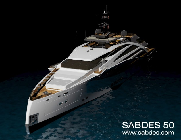 View large version of image: Motor Yacht Wallpaper