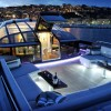 The Baia One Hundred Luxury Motor Yacht - Foredeck Night