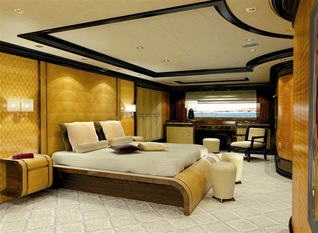 She is a steel displacement luxury yacht which was built by Benetti Yachts ...