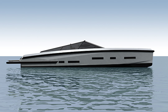 Wally Power 55 Motor Yacht Profile