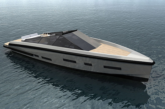 The new 55 wallypower power boat