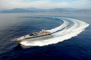 View large version of image: The Admiral 40 motor yacht by CNL