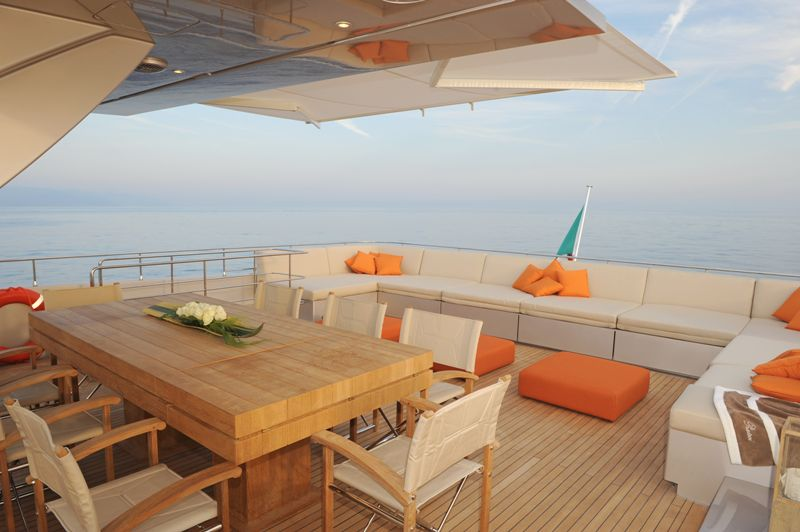 Private Yacht Deck 96495 | BURSARY