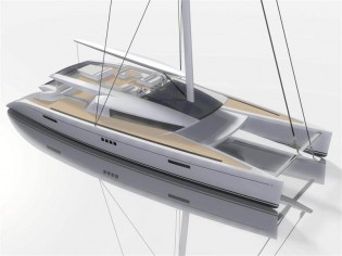 View large version of image: CODE E 100 foot Luxury Catamaran