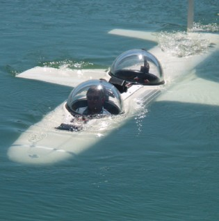 View large version of image: Flying Underwater - Hawkes Submersibles