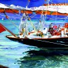 Classic Yacht Painting of 'Mariette'