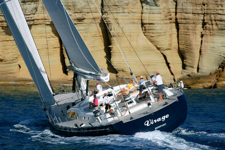 View large version of image: SWAN 100 S Sailing Yacht