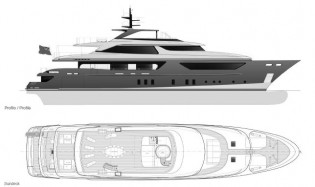 View large version of image: Sanlorenzo Yachts turns to steel.