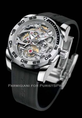 View large version of image: Pershing Yachts and Parmigiani Fleurier Watches