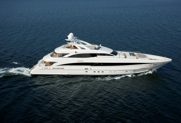 View large version of image: Motor Yacht JEMS a Heesen 4400