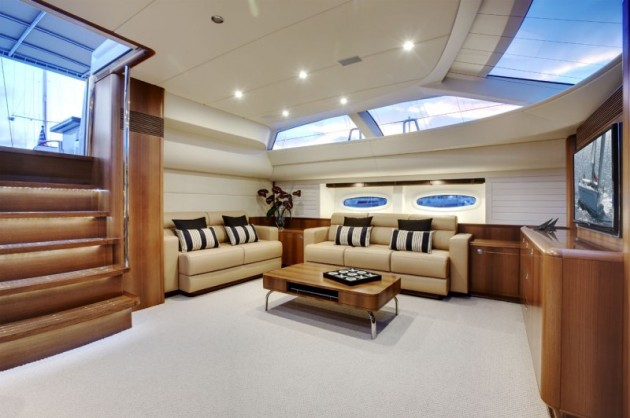 View large version of image: PY-100 Interior by Dixon Yacht Design
