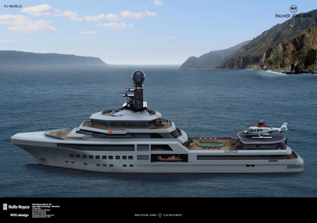 View large version of image: Palmer Johnson World Motor Yacht