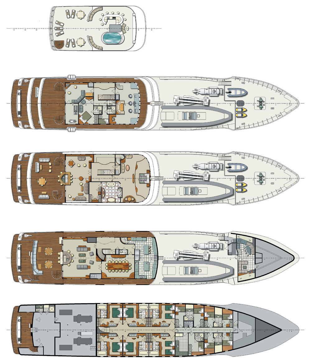 Big Yacht Floor Plan Pictures To Pin On Pinterest Pinsdaddy