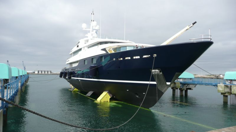 Superyacht Cloud 9 Launched.
