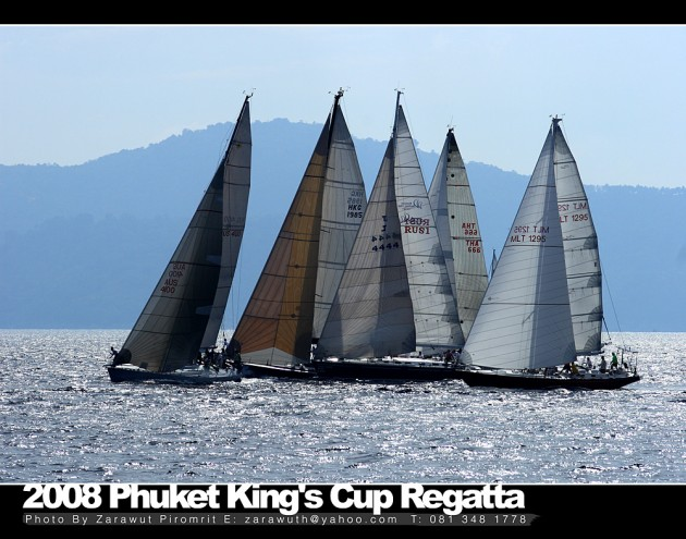 View large version of image: Superyacht Cup - Phuket King's Cup Regatta
