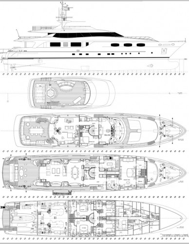 View large version of image: Yacht MACALULU Layout