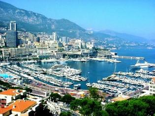 View large version of image: Monaco Harbour Port Hercule