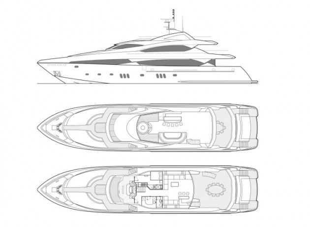 View large version of image: Motor Yacht TICKLED PINK