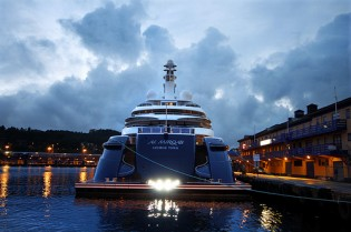 View large version of image: The Winners of the 2009 World Superyacht Awards