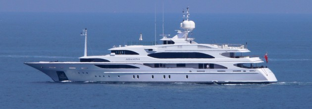 View large version of image: Benetti Yacht MEAMINA