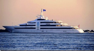 View large version of image: Huge Superyacht VIBRANT CURIOSITY