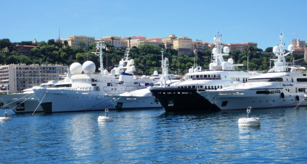 View large version of image: Yachts In Monaco Today