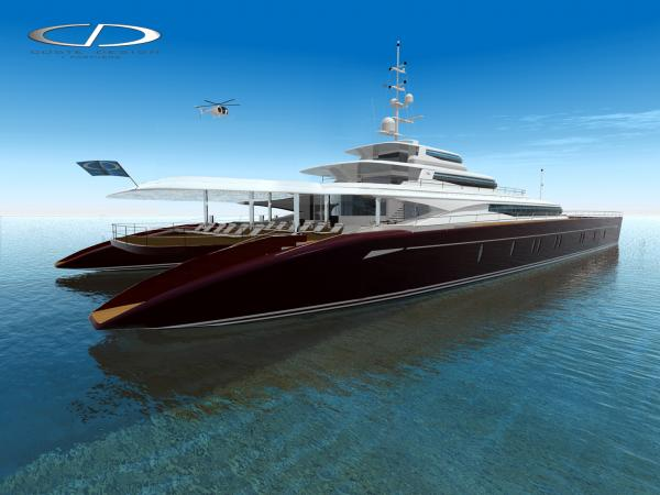 Coste Designs Luxury 60m Power Catamaran Superyachts