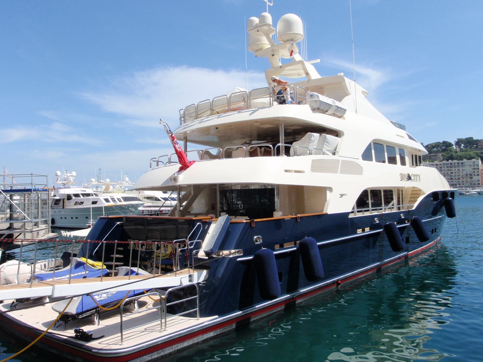 View Large Version Of Image SuperYacht Big City Launched
