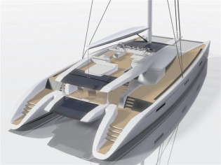 View large version of image: Code [e] The eco-smart mega catamaran