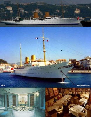 View large version of image: Old Is Gold - Yacht Savarona