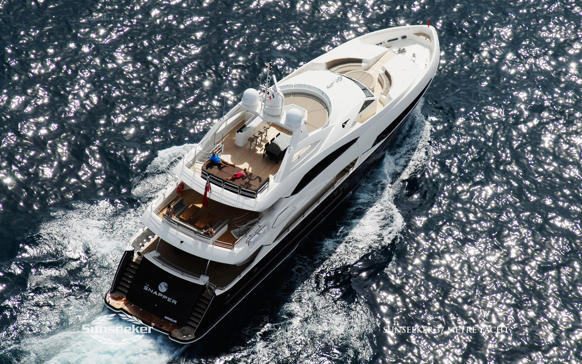Here is a wallpaper from sunseeker luxury motor yachts.
