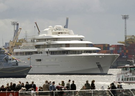 Motor Yacht Eclipse Launched Superyachts News Luxury Yachts
