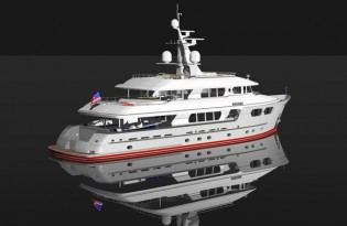 View large version of image: Marama of Setzer Design Group is the Finalist for 2010 Super Yachts Awards