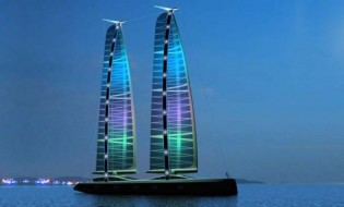 View large version of image: Eco-friendly Superyacht : Green Jet