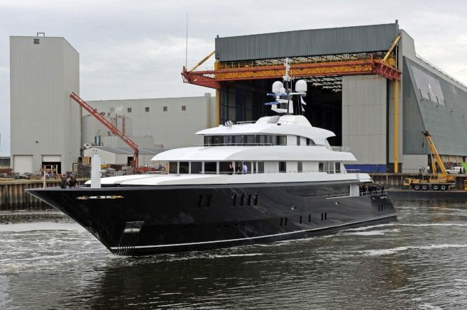 View large version of image: Super yacht Icon 62 launched